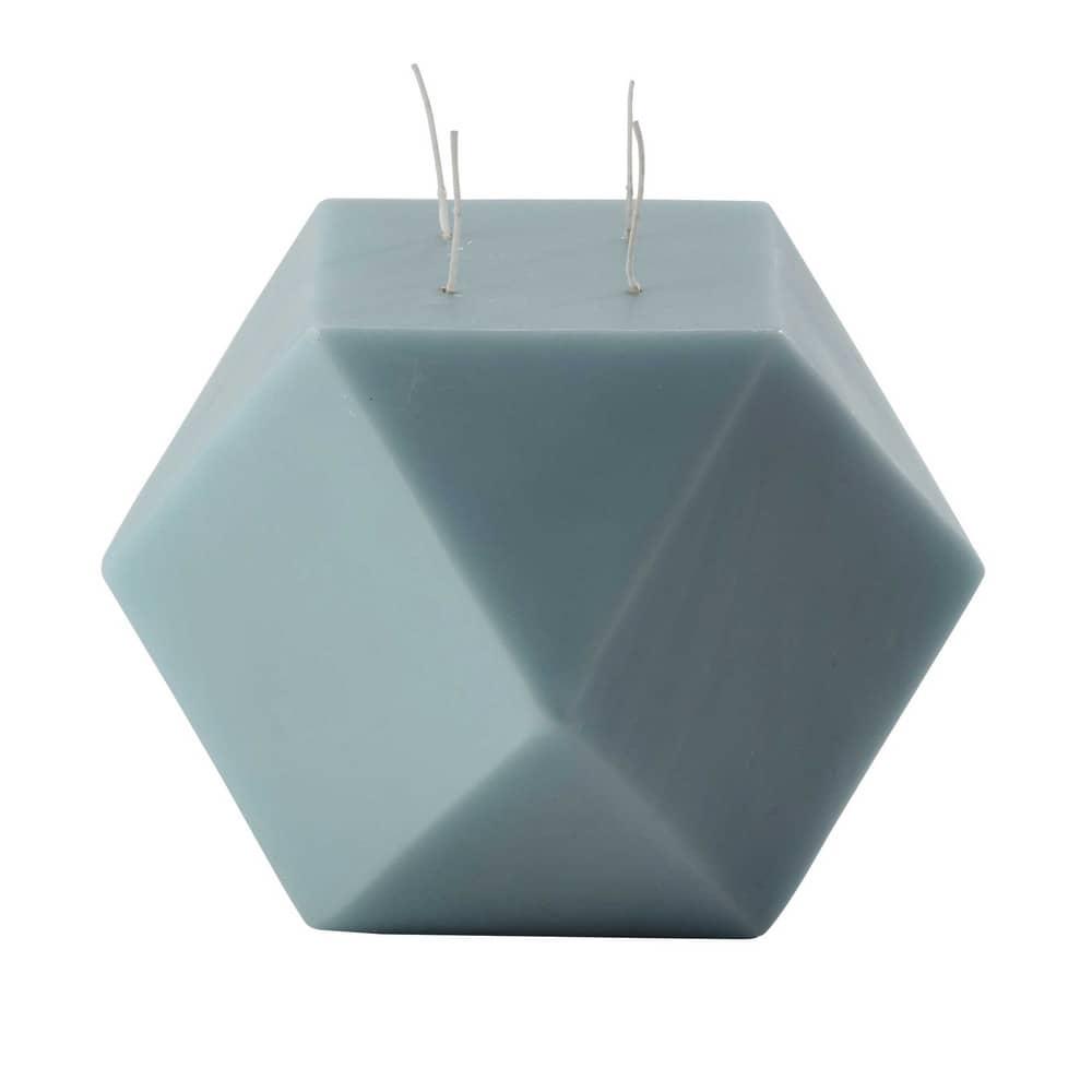 bougie bleue h 22 cm origamix maisons du monde. Black Bedroom Furniture Sets. Home Design Ideas