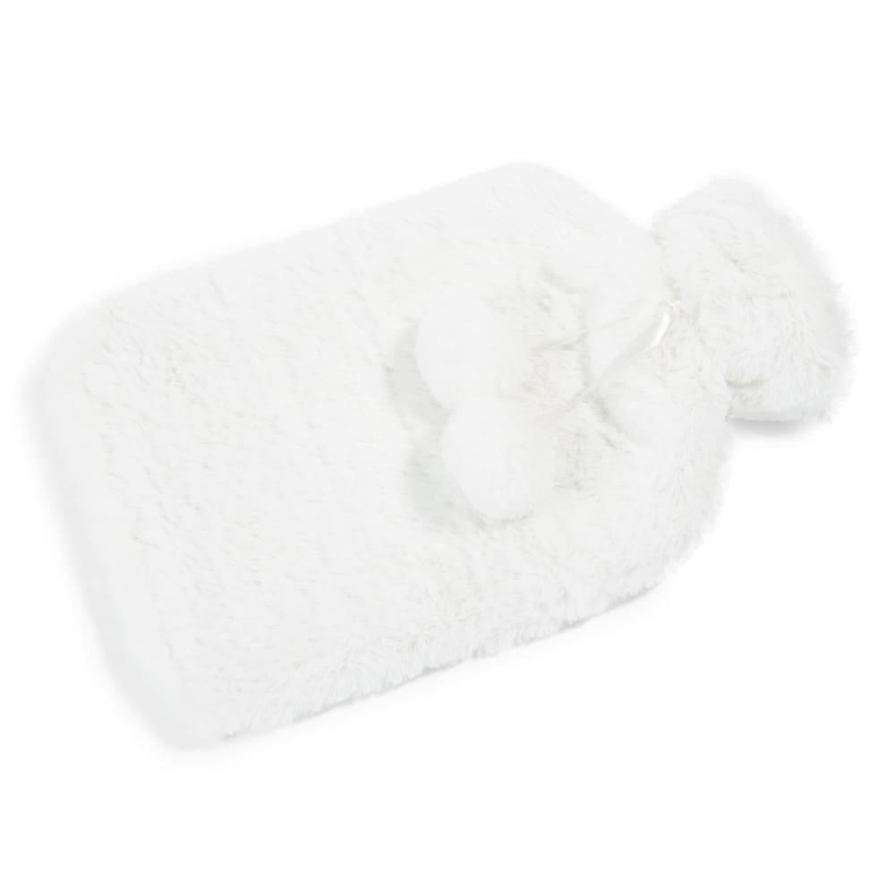bouillotte eau 2l fausse fourrure blanche h 34 cm helsinki maisons du monde. Black Bedroom Furniture Sets. Home Design Ideas
