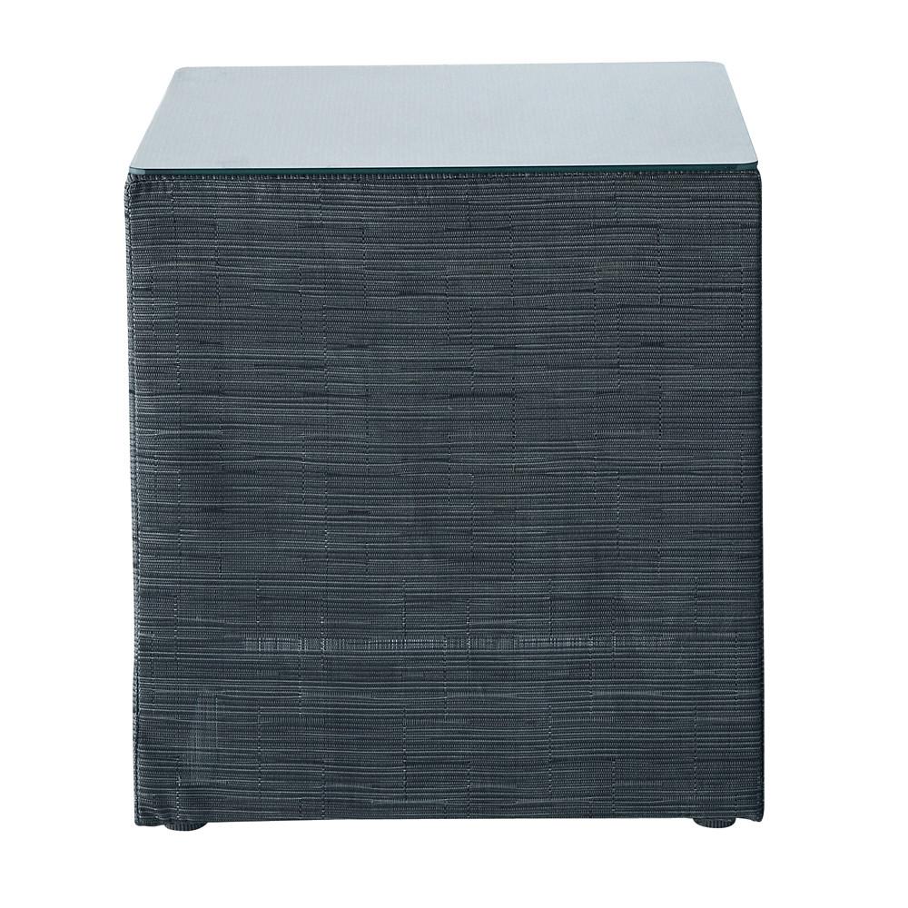 bout de canap d 39 ext rieur gris anthracite ibiza maisons du monde. Black Bedroom Furniture Sets. Home Design Ideas