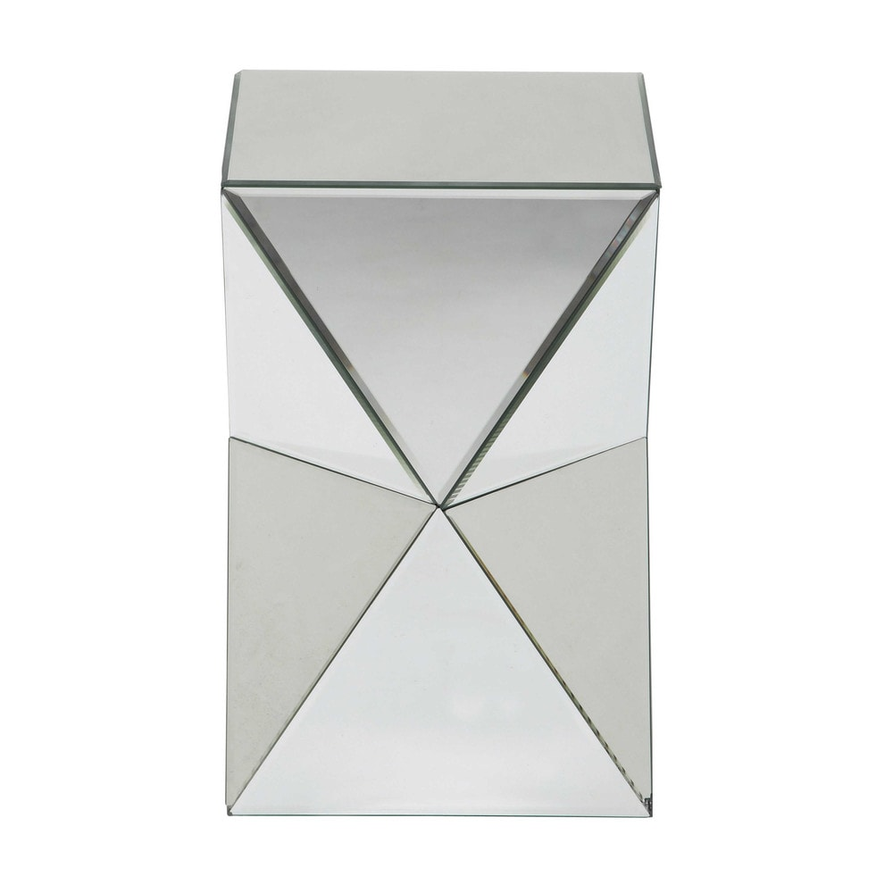 bout de canap miroir l 33 cm diamant maisons du monde. Black Bedroom Furniture Sets. Home Design Ideas