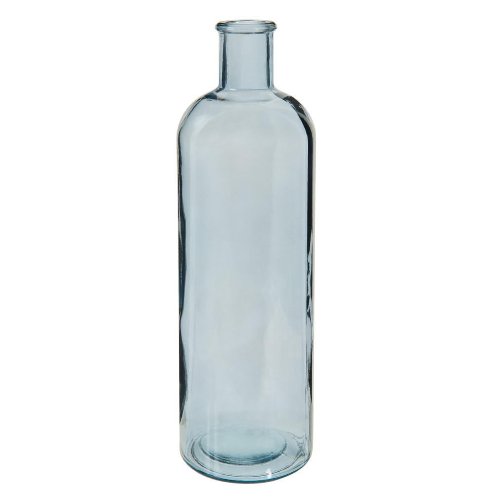 bouteille d co en verre grise h 32 cm maisons du monde. Black Bedroom Furniture Sets. Home Design Ideas