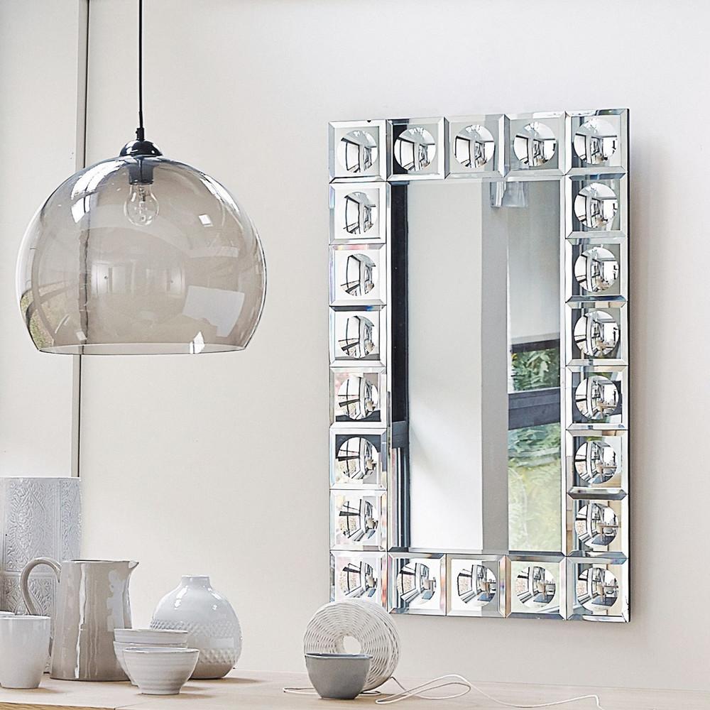 Broadway afgeschuinde spiegel h 120 cm maisons du monde - Moderne entree decoratie ...