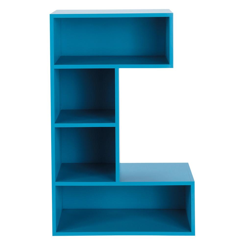 b cherregal aus holz b 70 cm blau c c maisons du monde. Black Bedroom Furniture Sets. Home Design Ideas