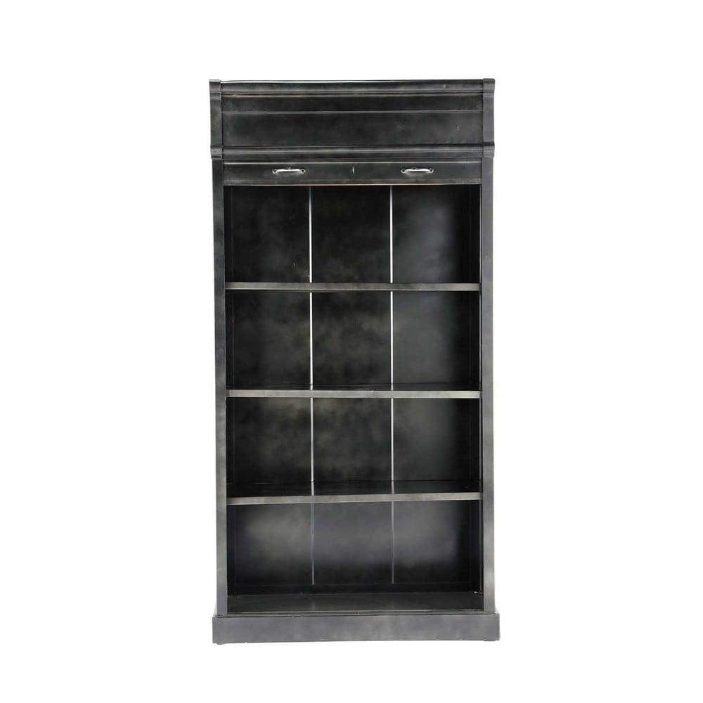 b cherregal im industrialstil aus metall b 100 cm. Black Bedroom Furniture Sets. Home Design Ideas