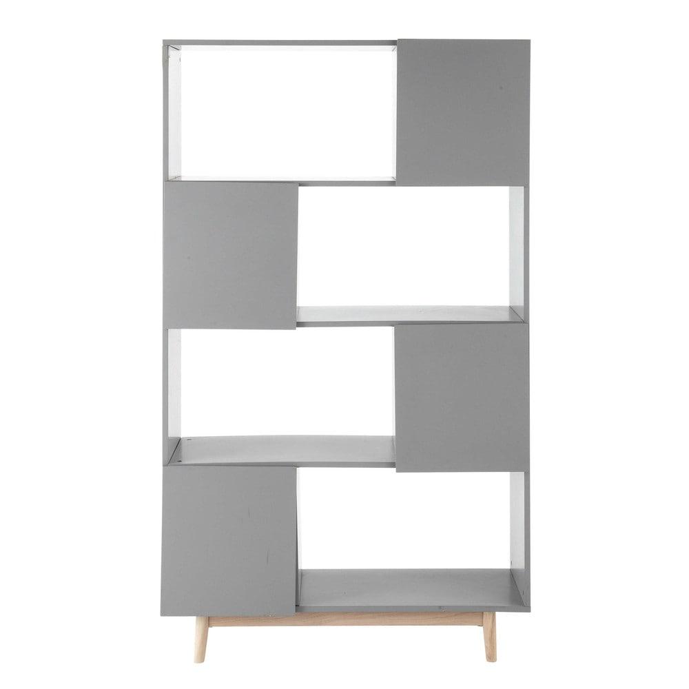 b cherregal im vintage stil aus holz b 110 cm grau artic maisons du monde. Black Bedroom Furniture Sets. Home Design Ideas