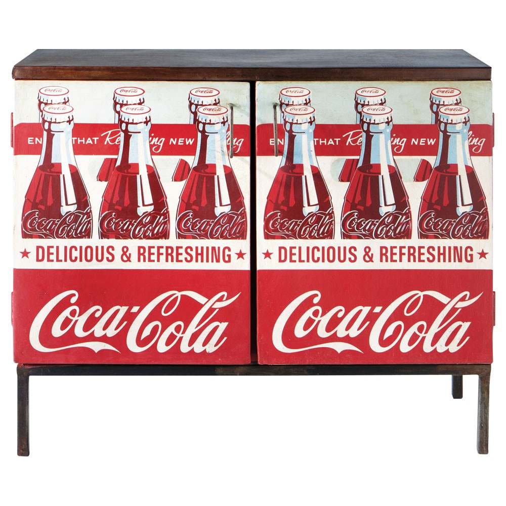 buffet coca cola coca cola maisons du monde. Black Bedroom Furniture Sets. Home Design Ideas