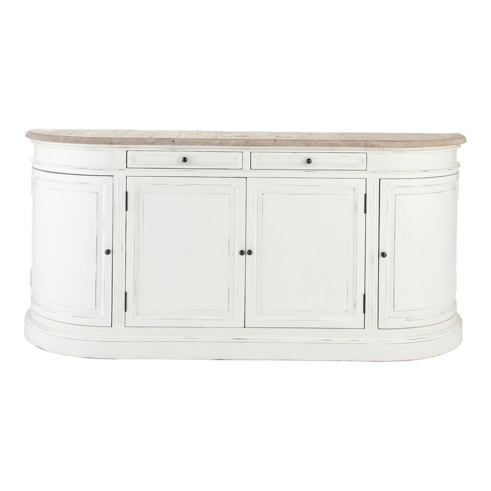 buffet en bouleau ivoire l190 provence maisons du monde. Black Bedroom Furniture Sets. Home Design Ideas