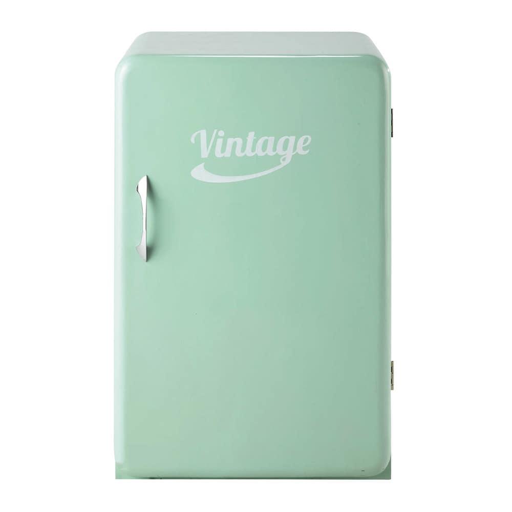 buffet frigo vintage vert d 39 eau l 55 cm chill maisons du. Black Bedroom Furniture Sets. Home Design Ideas