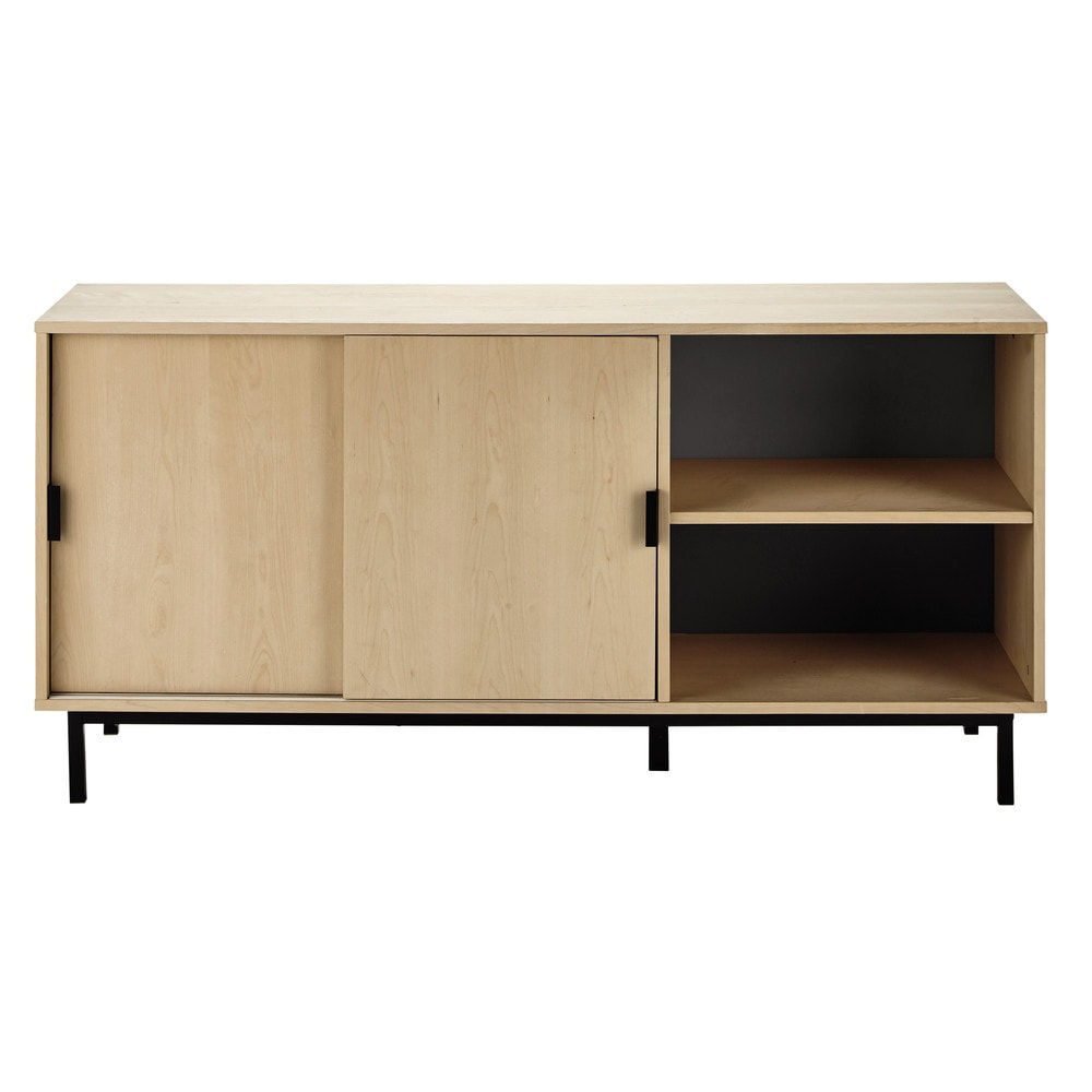 buffet l 160 cm graphik maisons du monde. Black Bedroom Furniture Sets. Home Design Ideas