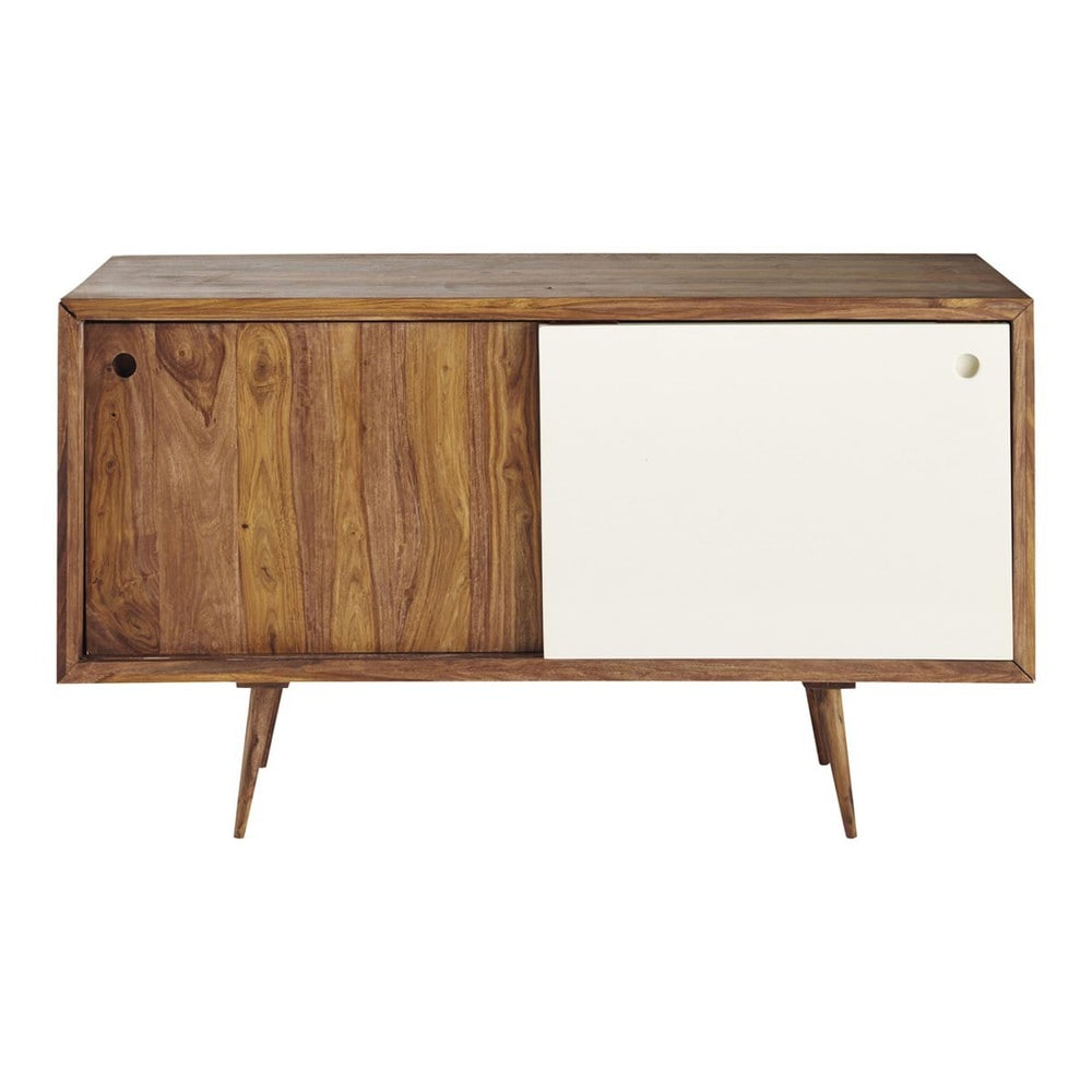 buffet vintage en bois de sheesham l 140 cm andersen maisons du monde. Black Bedroom Furniture Sets. Home Design Ideas