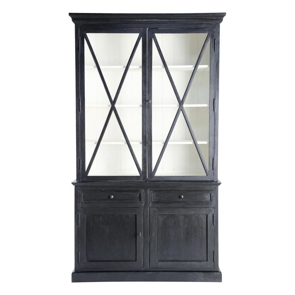 buffetkast vaisselier zwart descartes descartes. Black Bedroom Furniture Sets. Home Design Ideas
