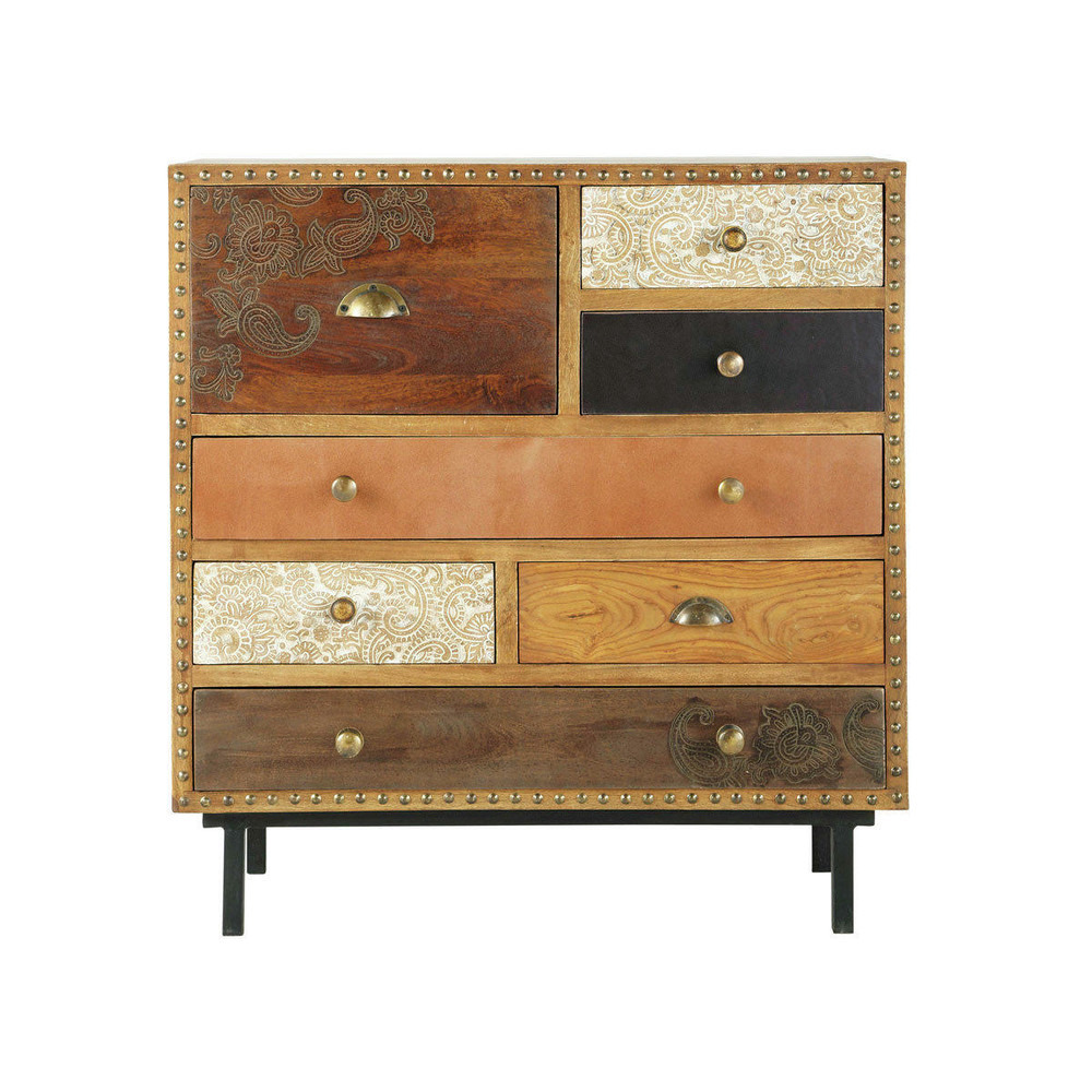 cabinet exotique zagora maisons du monde. Black Bedroom Furniture Sets. Home Design Ideas