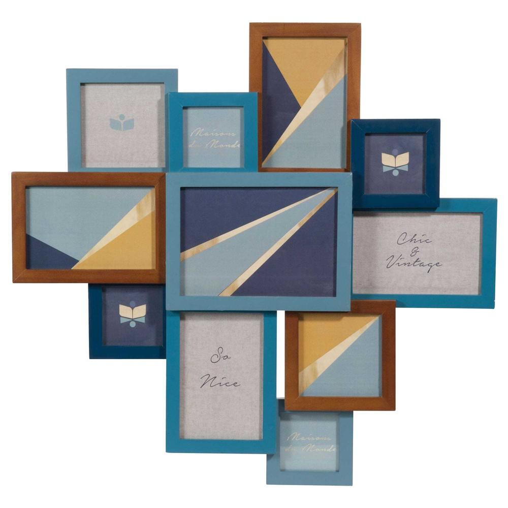 cadre photo 11 vues 51 x 53 cm portobello maisons du monde. Black Bedroom Furniture Sets. Home Design Ideas
