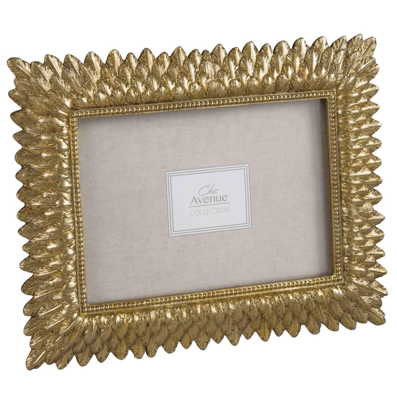 cadre photo 13x18 doré grace | maisons du monde