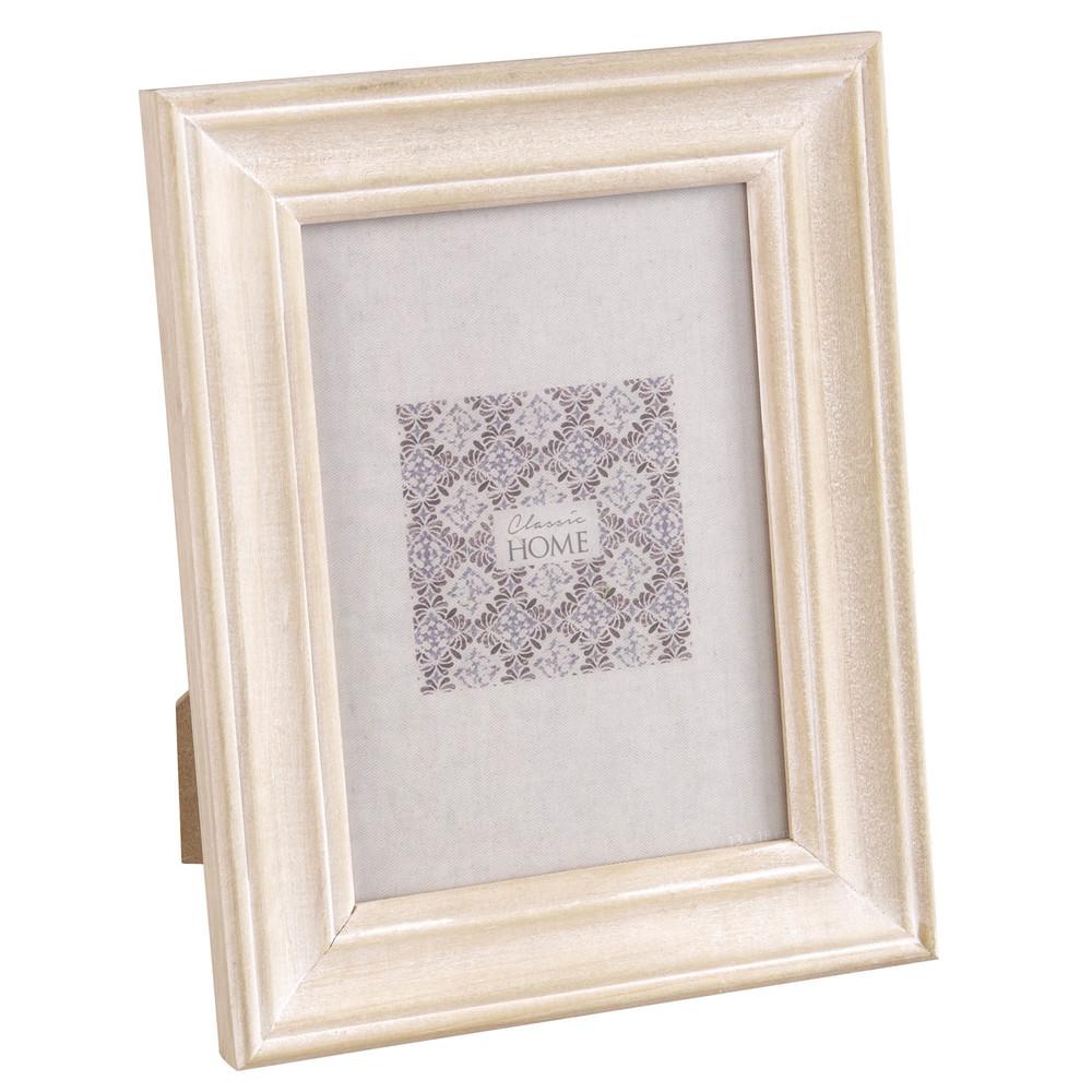 cadre photo 13x18 en pin blanchi maisons du monde. Black Bedroom Furniture Sets. Home Design Ideas