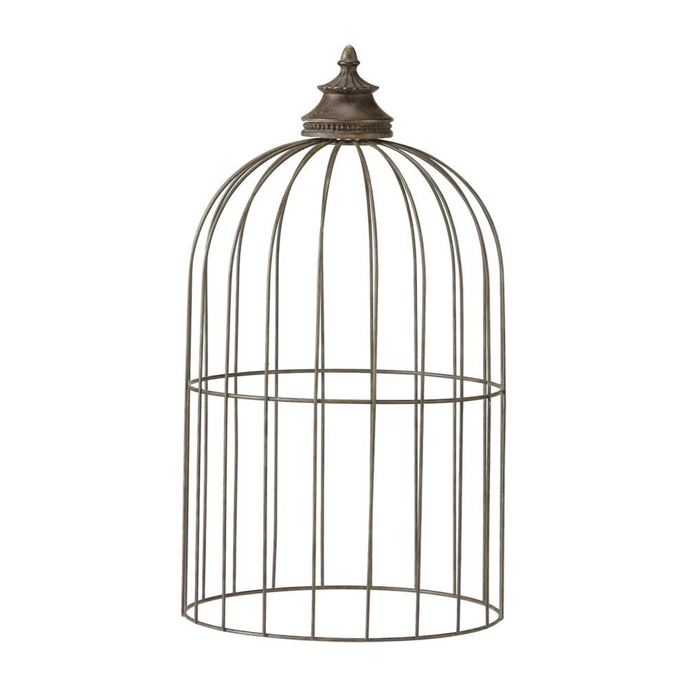 Cage oiseaux mimosa maisons du monde for Cage a oiseaux deco