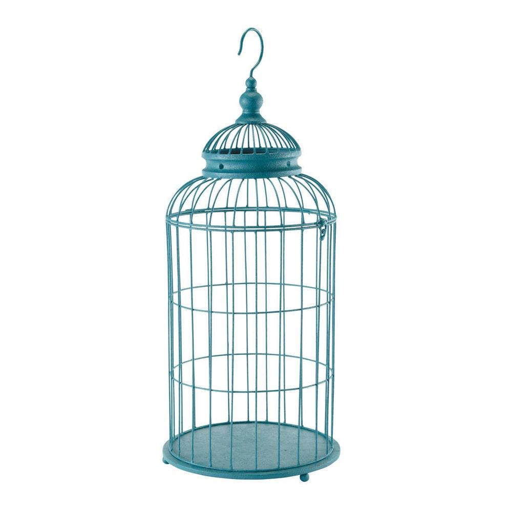 cage d co bleue orient maisons du monde. Black Bedroom Furniture Sets. Home Design Ideas