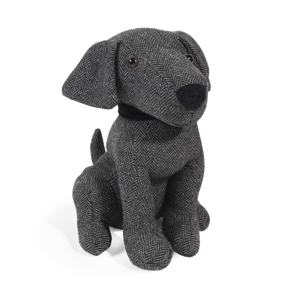 Cale porte chien en tissu h 28 cm mylo maisons du monde - Cale porte tissu ...