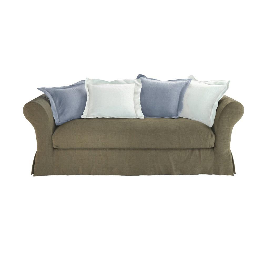 canap 3 4 places convertible cam l on maisons du monde. Black Bedroom Furniture Sets. Home Design Ideas