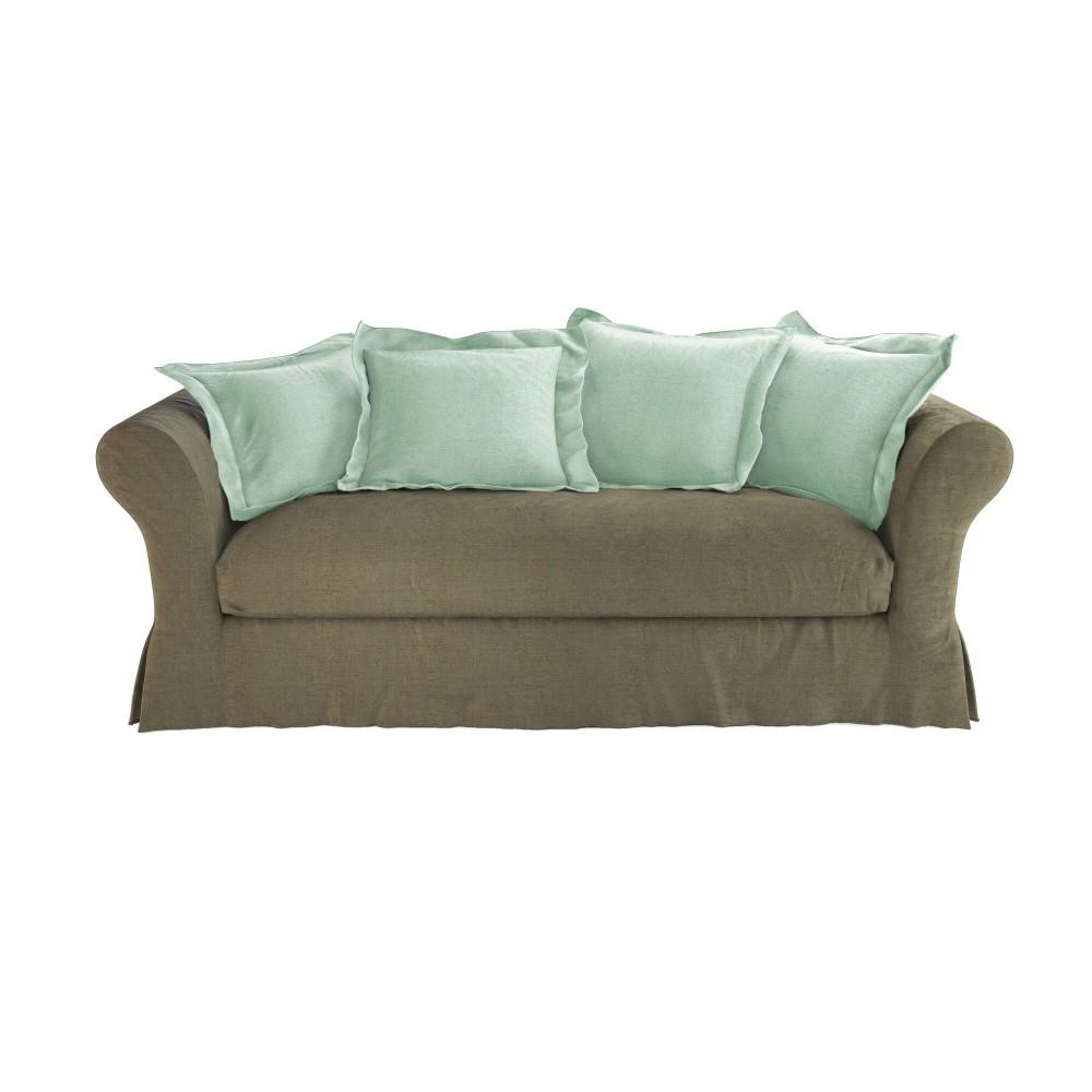 canap 3 4 places fixe cam l on maisons du monde. Black Bedroom Furniture Sets. Home Design Ideas