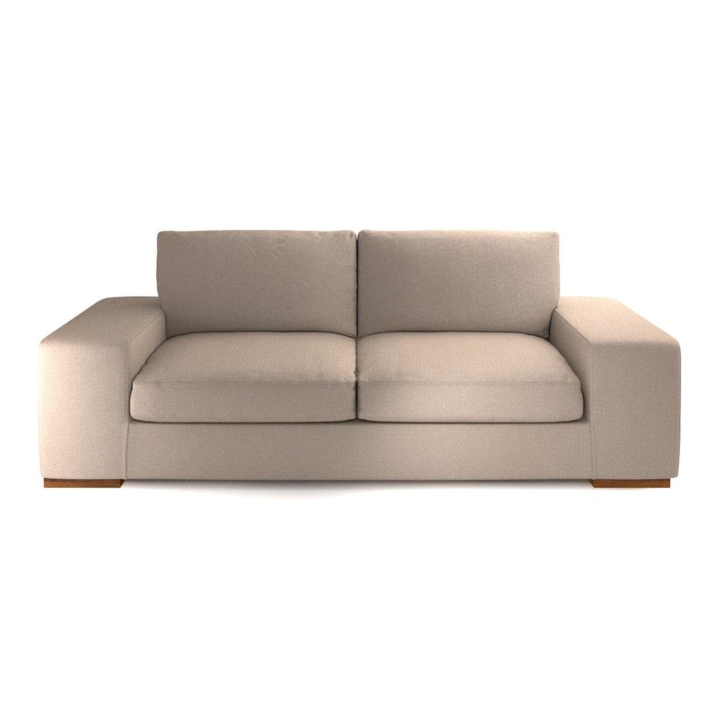 canap 3 places fixe personnalisable daytona maisons du. Black Bedroom Furniture Sets. Home Design Ideas