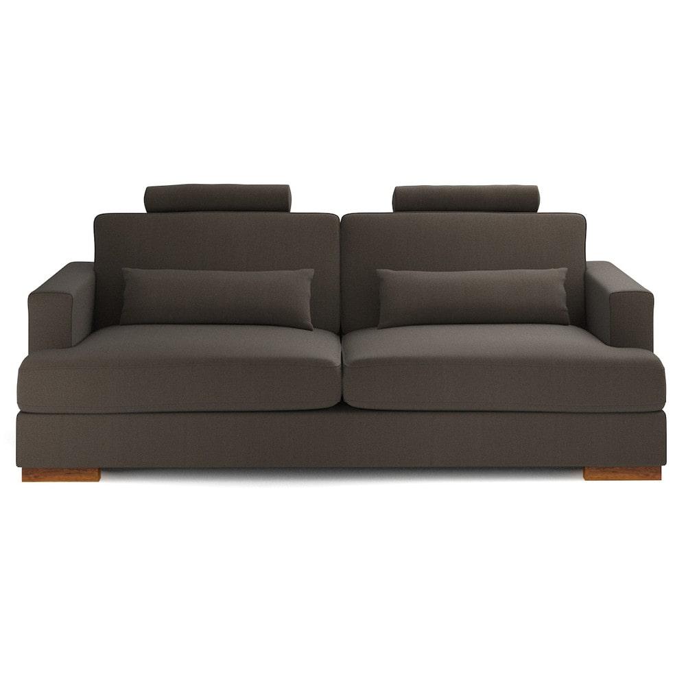 canap 3 places fixe personnalisable orlando maisons du. Black Bedroom Furniture Sets. Home Design Ideas