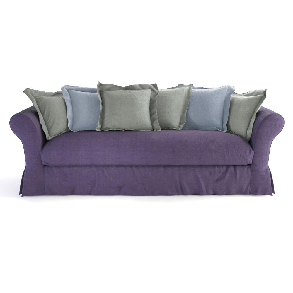 canap 4 5 places fixe cam l on maisons du monde. Black Bedroom Furniture Sets. Home Design Ideas
