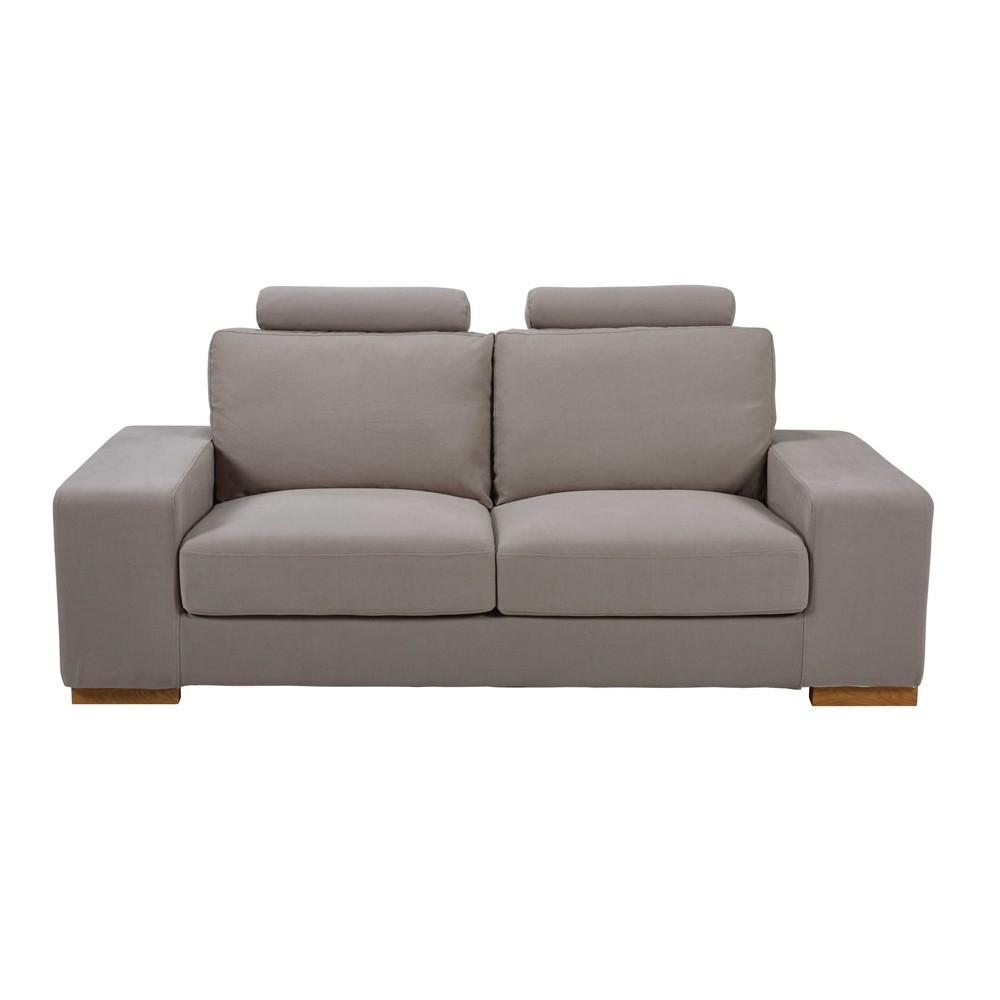 canape deux places tissu. Black Bedroom Furniture Sets. Home Design Ideas