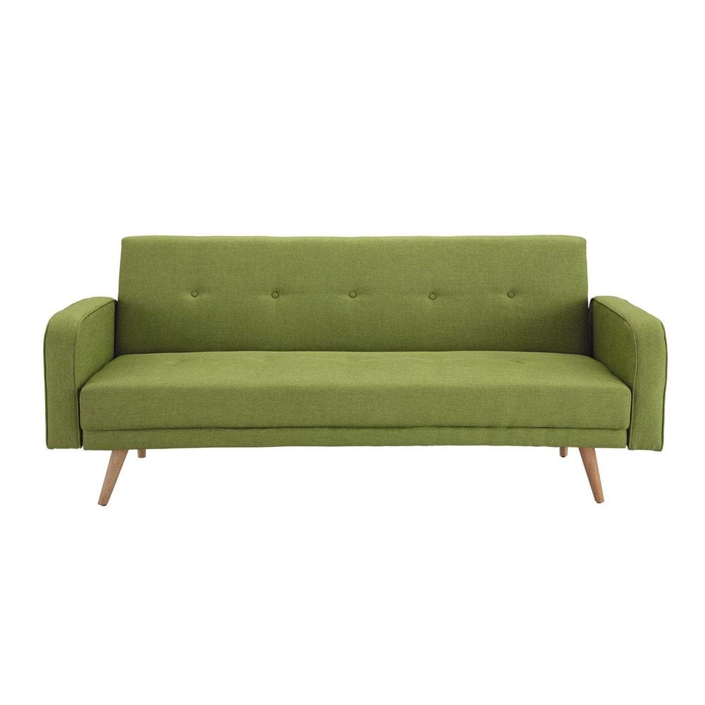 canap clic clac convertible 3 places broadway maisons. Black Bedroom Furniture Sets. Home Design Ideas