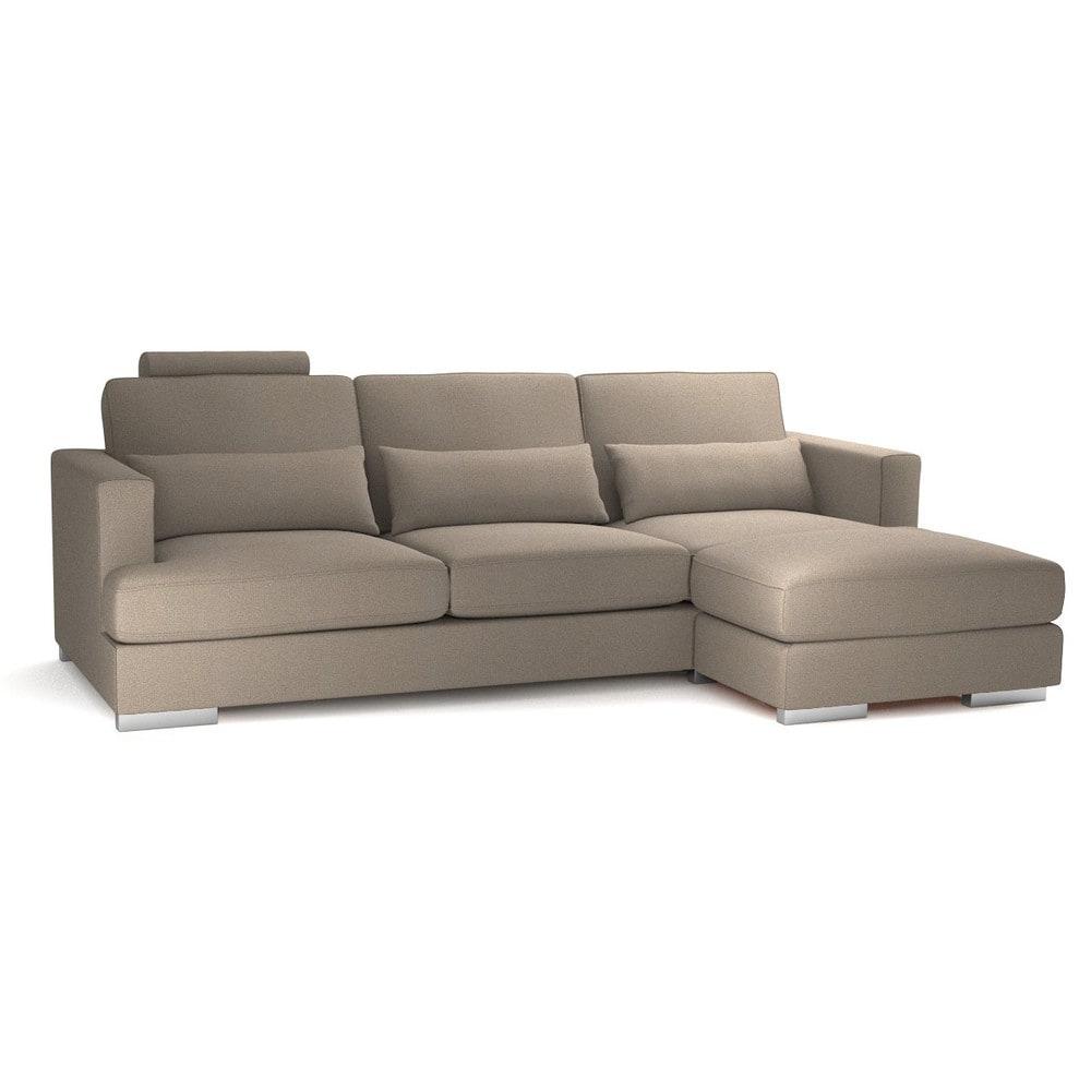 canap d 39 angle 5 places fixe personnalisable orlando maisons du monde. Black Bedroom Furniture Sets. Home Design Ideas