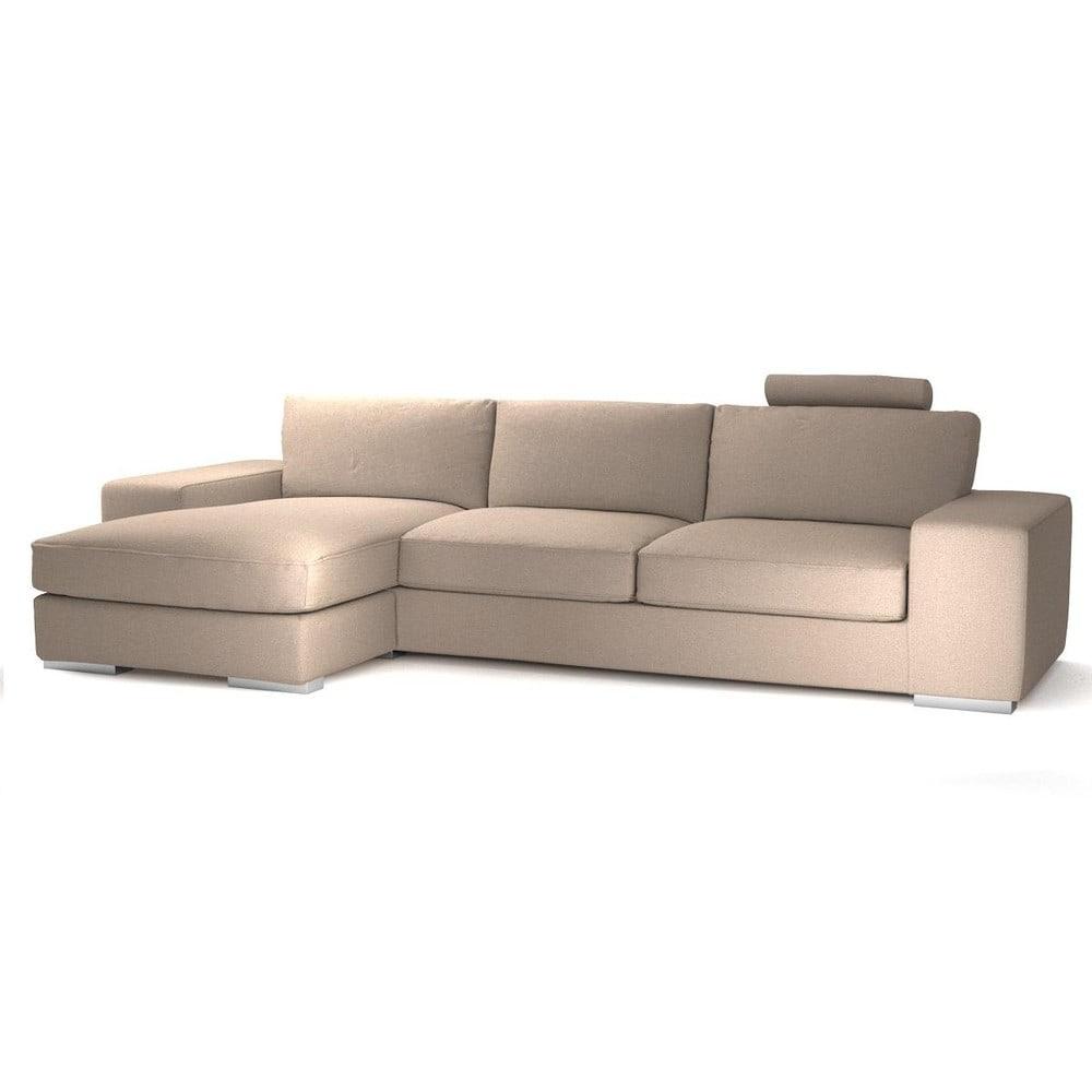 canap d 39 angle gauche personnalisable 5 places en tissu daytona maisons du monde. Black Bedroom Furniture Sets. Home Design Ideas