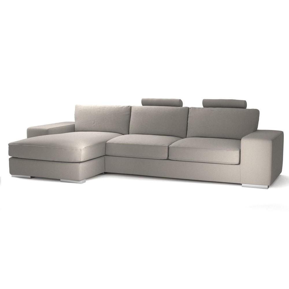 canap d 39 angle gauche personnalisable 5 places en tissu daytona maisons. Black Bedroom Furniture Sets. Home Design Ideas
