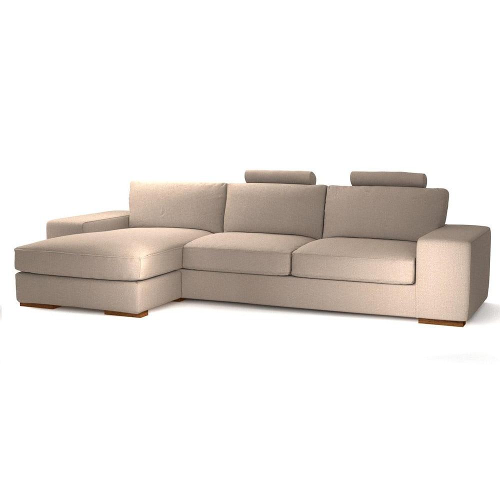 canap d 39 angle gauche personnalisable 5 places en tissu. Black Bedroom Furniture Sets. Home Design Ideas