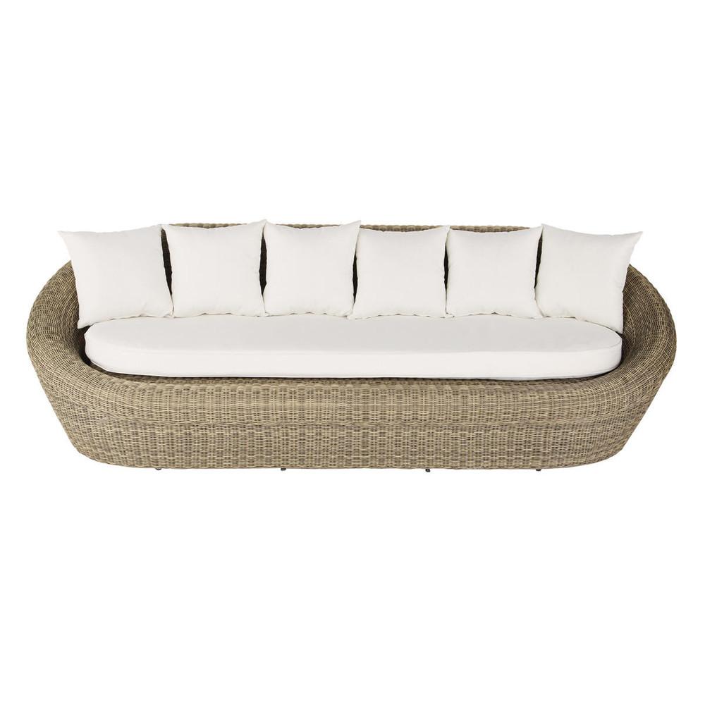 canap de jardin 3 4 places en r sine tress e st rapha l. Black Bedroom Furniture Sets. Home Design Ideas