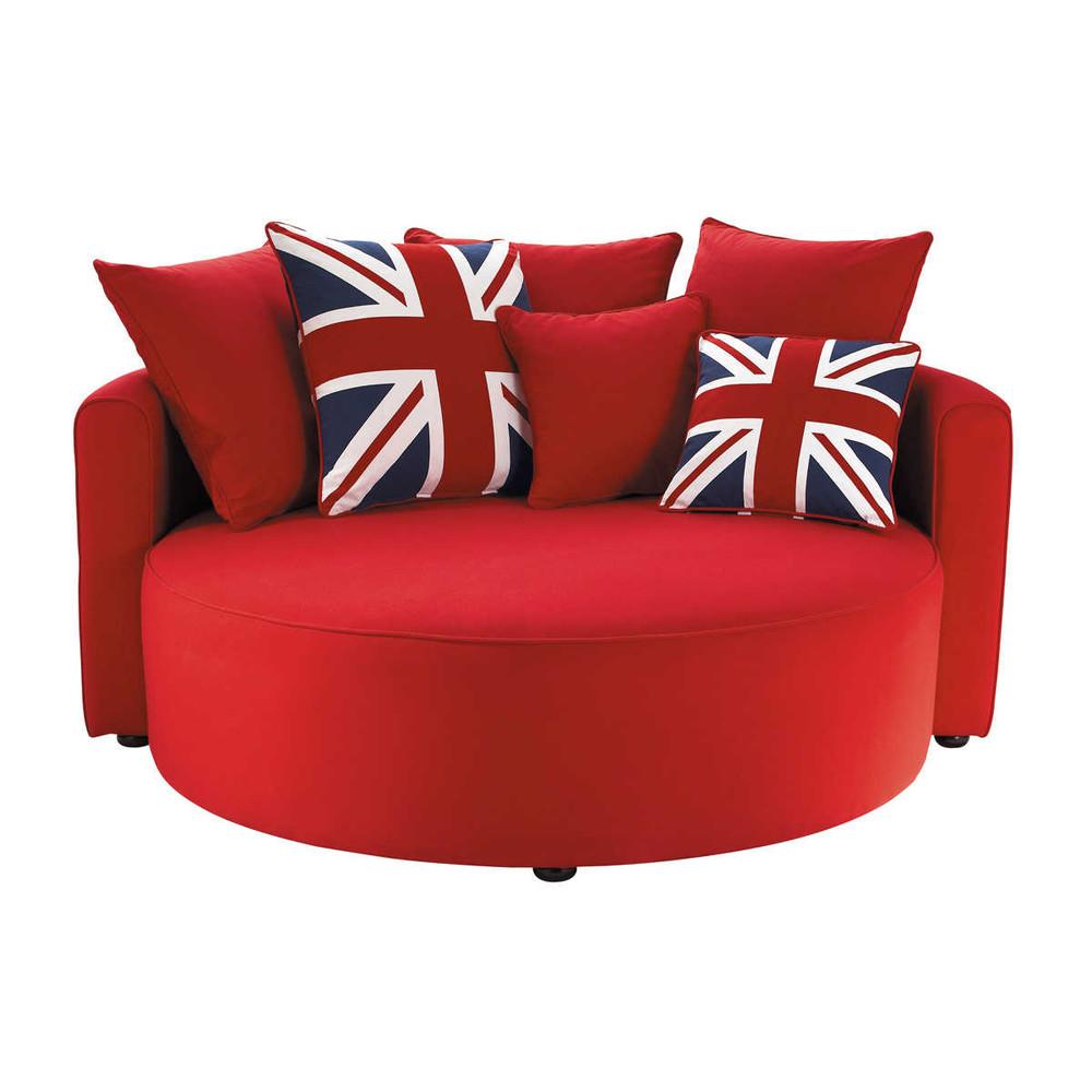 Canap Rond British Maisons Du Monde