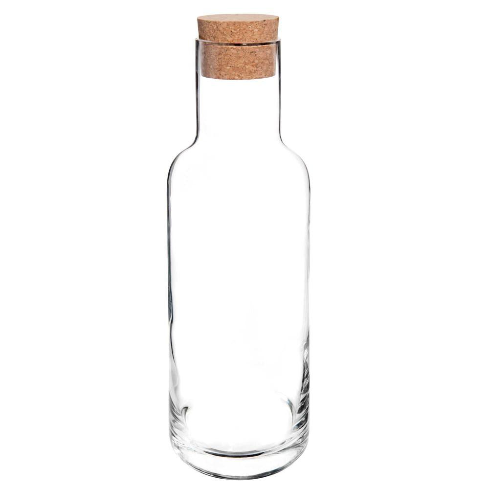 Carafe avec bouchon en verre stopper maisons du monde - Carafe a vin maison du monde ...