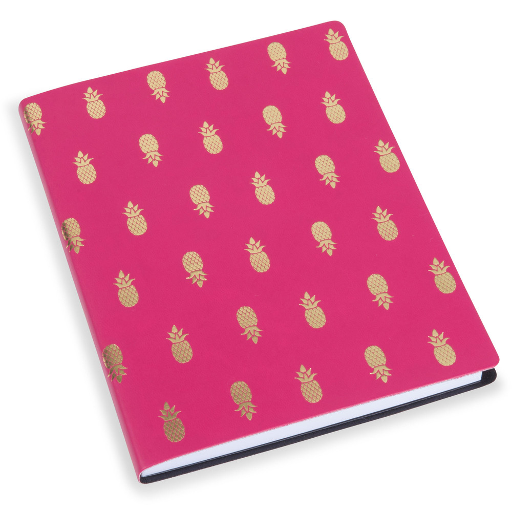 carnet de notes ananas pink maisons du monde. Black Bedroom Furniture Sets. Home Design Ideas