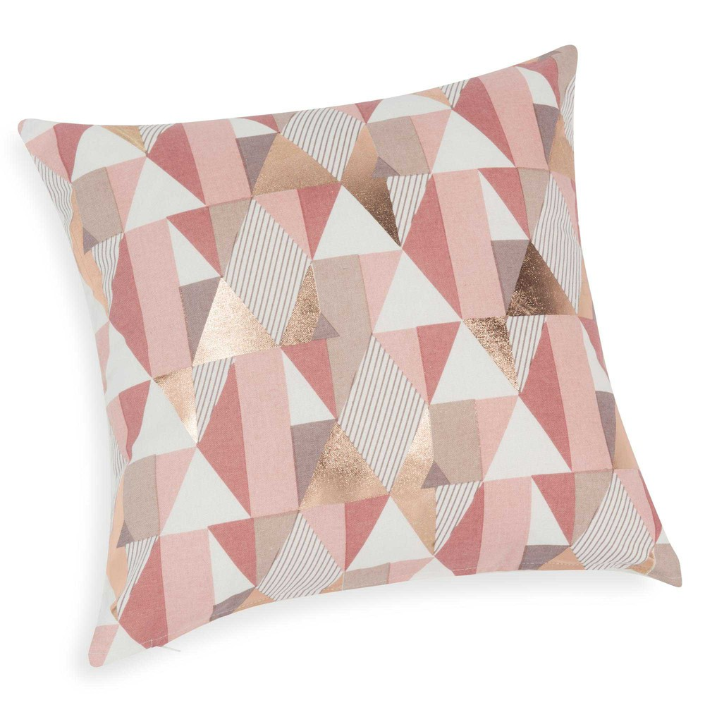 Celia cushion cover 40 x 40 cm maisons du monde for Housse couverture