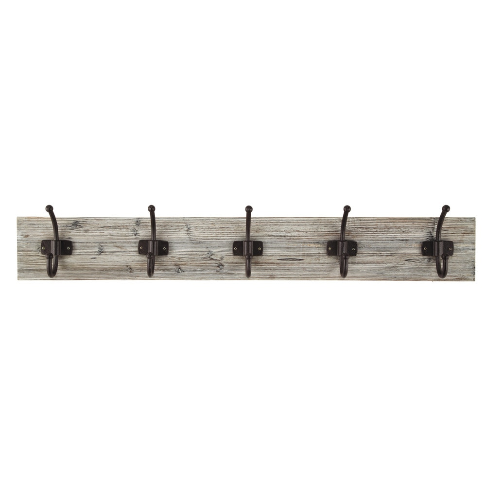 CEVENNES wooden 5 hook rail