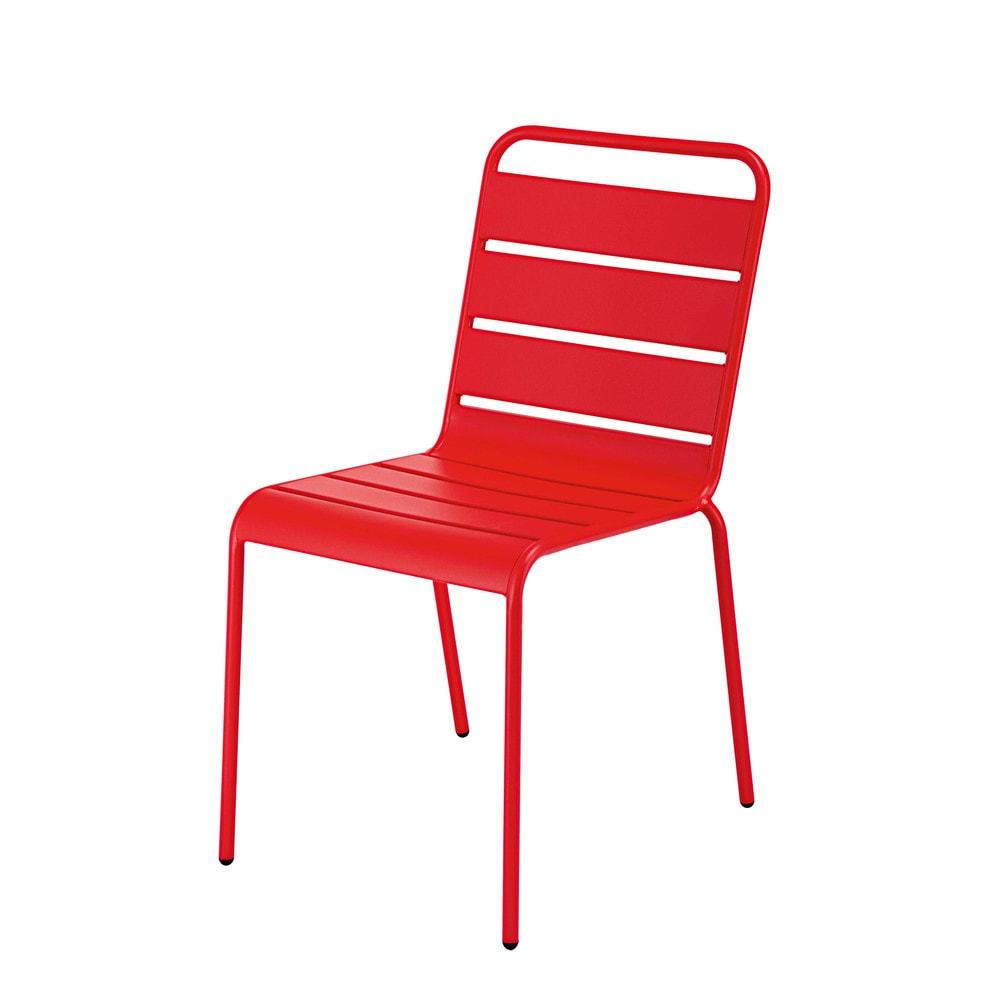 Chaise de jardin empilable d coration de maison for Chaise empilable