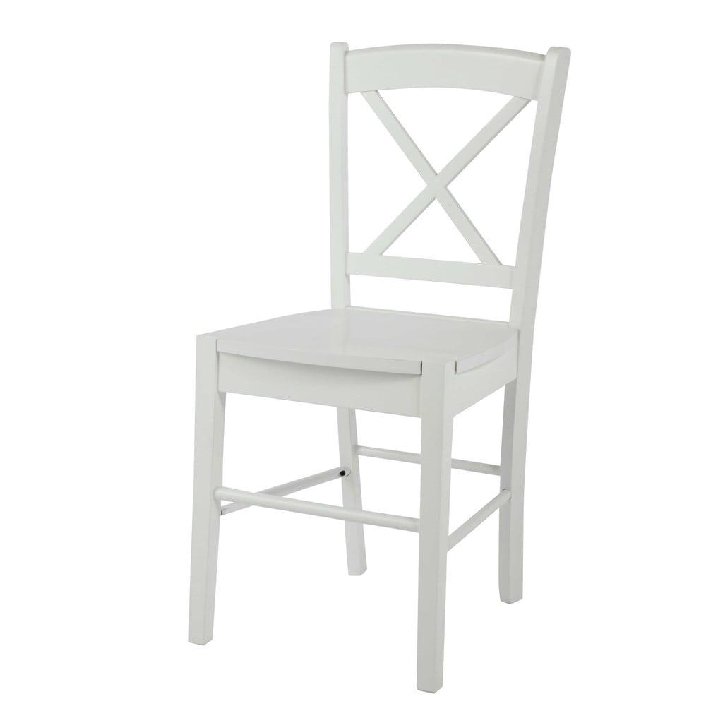 chaise en h v a blanche newport maisons du monde. Black Bedroom Furniture Sets. Home Design Ideas
