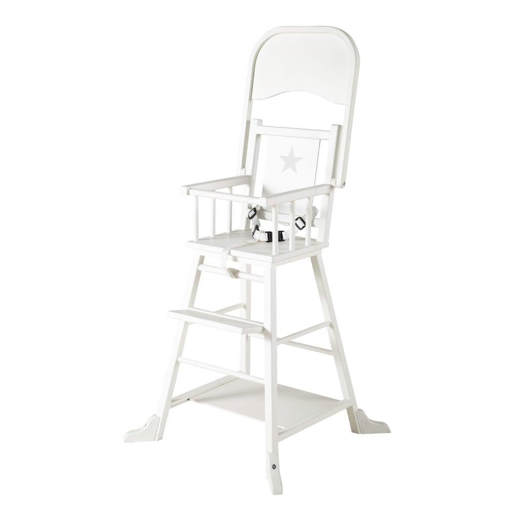 chaise haute en bois fabulous chaise haute bois et mtal iron noire with chaise haute en bois. Black Bedroom Furniture Sets. Home Design Ideas