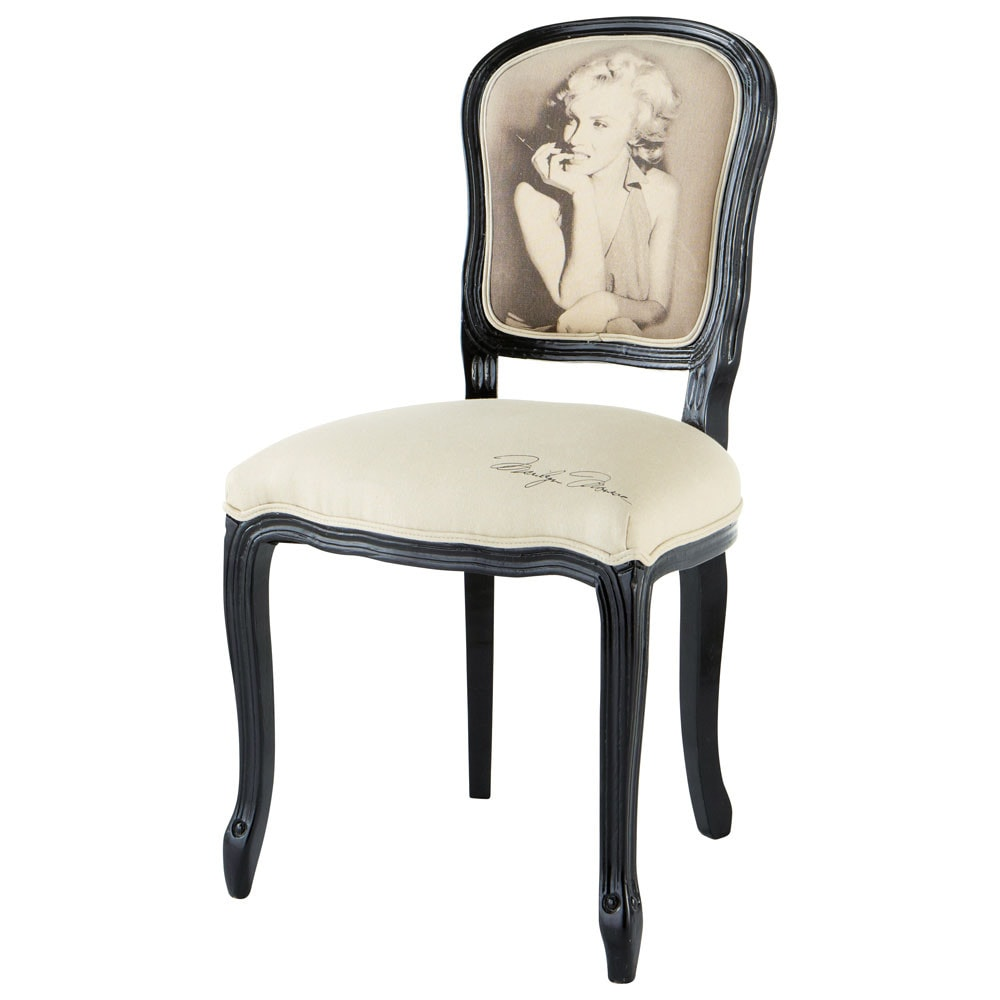chaise marilyn versailles maisons du monde. Black Bedroom Furniture Sets. Home Design Ideas