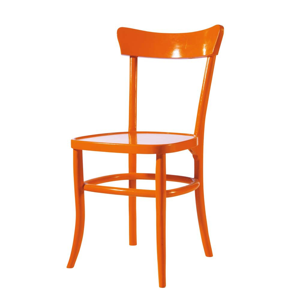 Chaise Orange Bistrot Maisons Du Monde