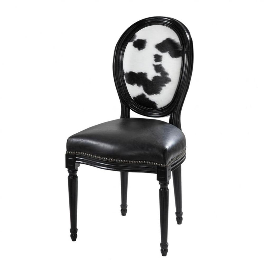 chaise vache louis maisons du monde. Black Bedroom Furniture Sets. Home Design Ideas