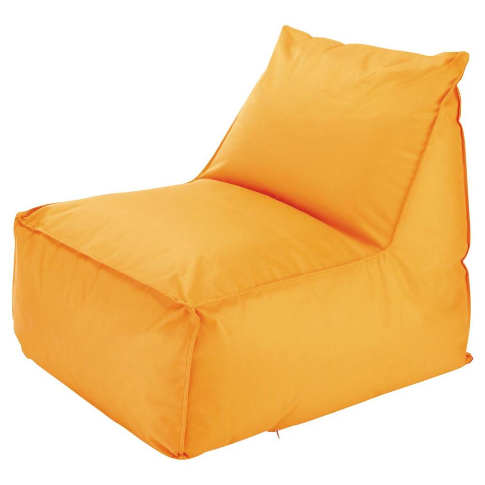 chauffeuse da esterno pouf a sfere arancione papagayo. Black Bedroom Furniture Sets. Home Design Ideas