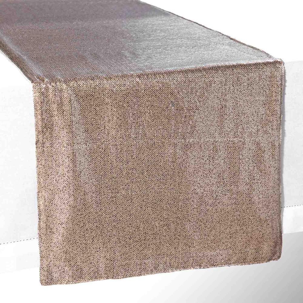 chemin de table sequins dor s l 150 cm mirifique maisons du monde. Black Bedroom Furniture Sets. Home Design Ideas