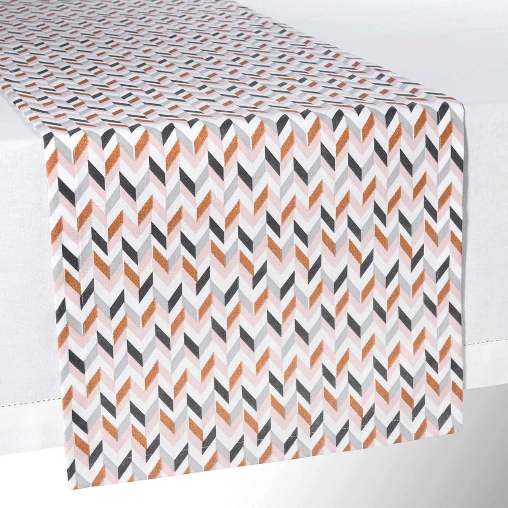 chemin de table en coton l 150 cm dana maisons du monde. Black Bedroom Furniture Sets. Home Design Ideas