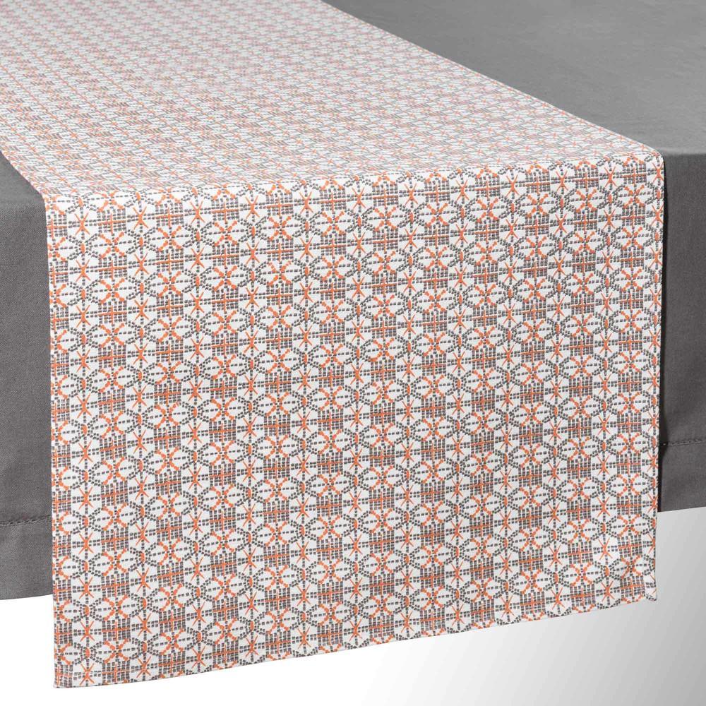 chemin de table en coton l 150 cm zuni maisons du monde. Black Bedroom Furniture Sets. Home Design Ideas