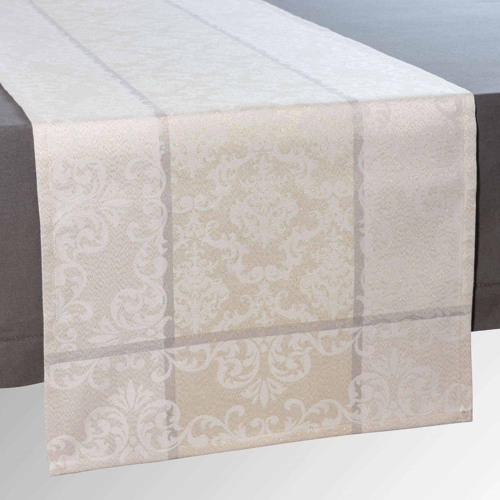 chemin de table l 150 cm plessy maisons du monde. Black Bedroom Furniture Sets. Home Design Ideas